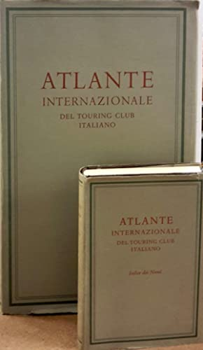 ATLANTE INTERNAZIONALE DEL TOURING CLUB ITALIANO