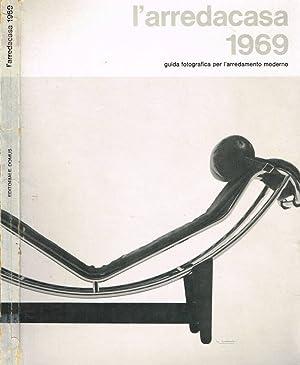 L'ARREDOCASA 1969 GUIDA FOTOGRAFICA PER L'ARREDAMENTO MODERNO: GIANNI RATTO a