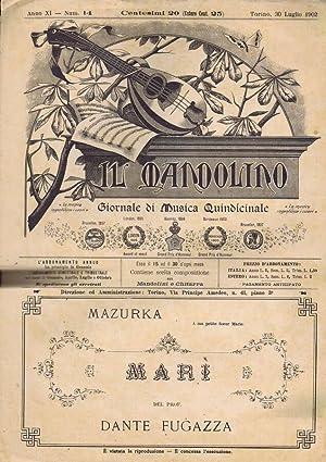 Il Mandolino N. 14: G. Monticone, Direttore