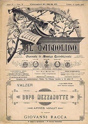 Il Mandolino N. 7: G. Monticone, Direttore