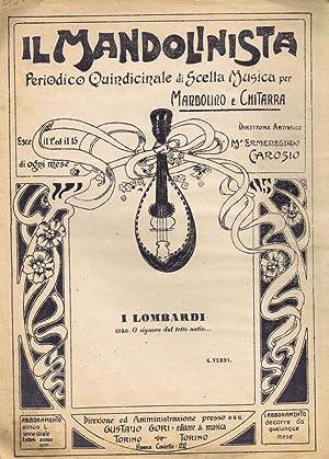 Il Mandolinista I Lombardi: M. Ermenegildo Carosio,