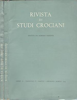 Rivista di Studi Crociani - Anno 1973: AA. VV.