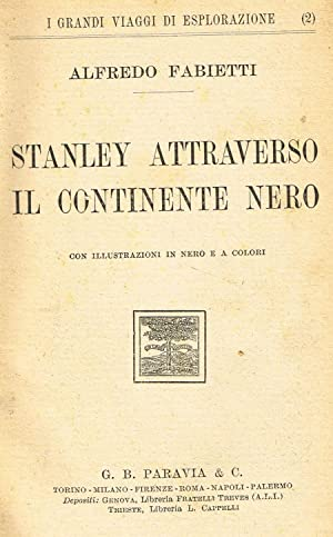 STANLEY ATTRAVERSO IL CONTINENTE NERO: ALFREDO FABIETTI