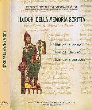 I Luoghi della Memoria Scritta I libri: Guglielmo Cavallo, Direzione
