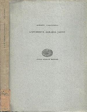 L'inchiesta agraria Jacini: Alberto Caracciolo