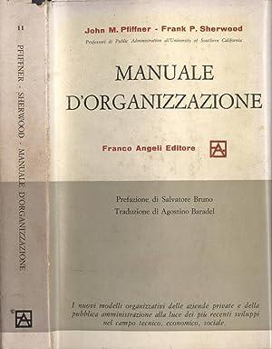 Manuale d' organizzazione: John M. Pfiffner