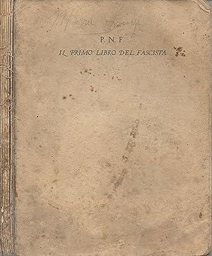 Il primo libro del fascista: AA. VV.