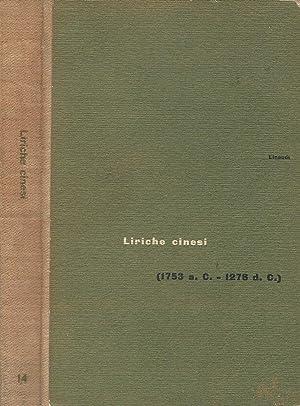 Liriche cinesi (1753 a. C. - 1278: Giorgia Valensin, a