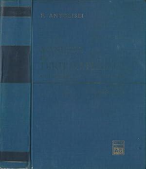 Manuale di diritto penale a cura di: Francesco Antolisei