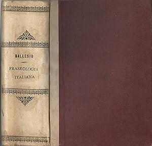 Fraseologia italiana: Giovanni Battista Ballesio