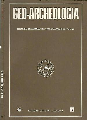 Geo- Archeologia Periodico dell'associazione geo-archeologica italiana: A.a.V.v