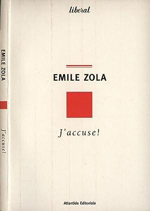 """J' accuse! Il caso Dreyfus e """": Emile Zola"""
