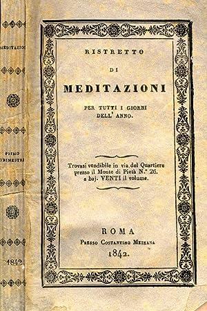 Ristretto di Meditazioni per tutti I giorni: AA.VV.