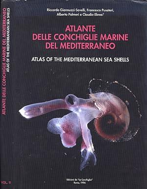 Atlante della conchiglie marine del Mediterraneo -: AA. VV.
