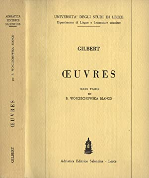 Oeuvres: Gilbert - Università
