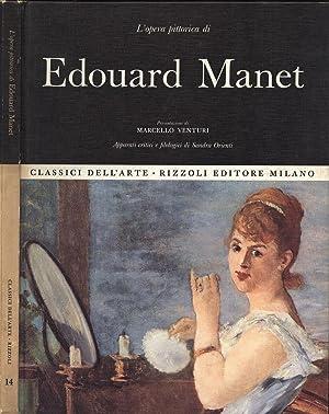 L' opera pittorica di Edouard Manet: Marcello Venturi