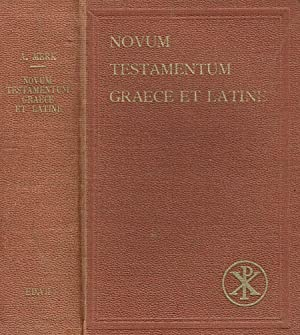 NOVUM TESTAMENTUN GRAECE ET LATINE: AUGUSTINUS MERK