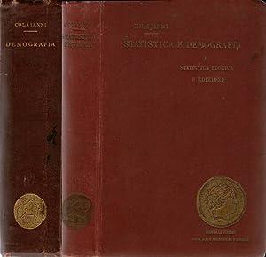 Manuale di Statistica e Demografia I: Statistica: napoleone Colajanni