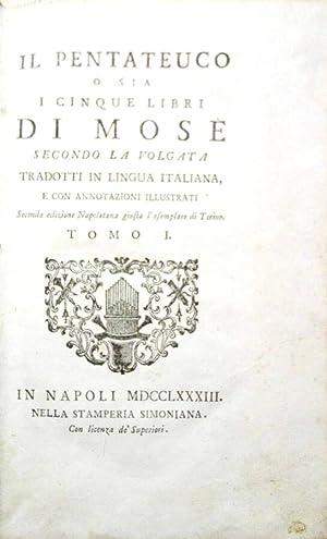 Il Pentateuco O sia I cinque libri: AA.VV.