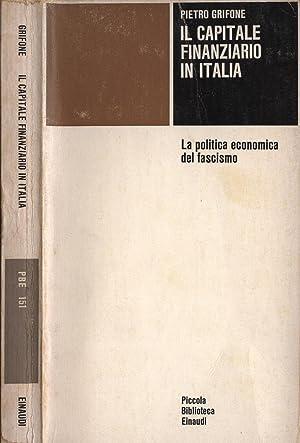 Il capitale finanziario in Italia: Pietro Grifone