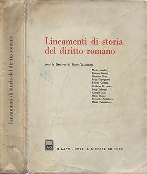 Lineamenti di storia del diritto romano: Mario Talamanca, sotto