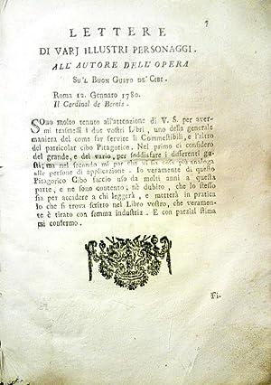 Il Cuoco Galante: Vincenzo Corrado