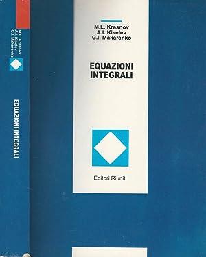 Equazioni integrali: M. L. Krasnov,