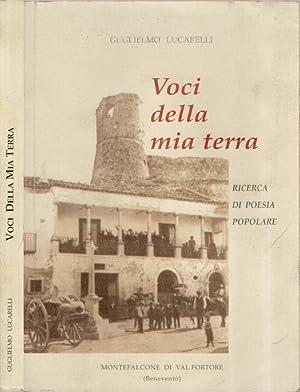 Voci della mia terra Ricerca di poesia: Guglielmo Lucarelli