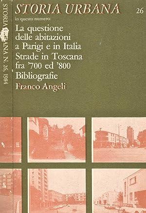 Storia Urbana N. 26 La questione delle: AA.VV.