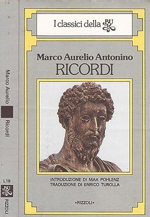 Ricordi: Marco Aurelio Antonino