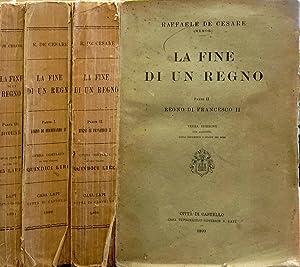 La fine di un regno Parte I: Raffaele De Cesare