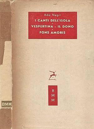 I Canti dell'Isola - Vespertina - Il: Ada Negri