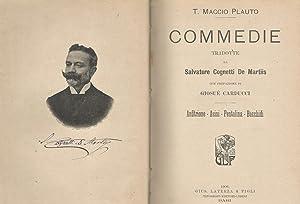 Commedie Anfitrione - Asini - Pentolina -: T. Maccio Plauto
