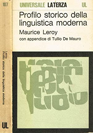maurice leroy%2C profilo storico della linguistica moderna  profilo storico della linguistica moderna - AbeBooks