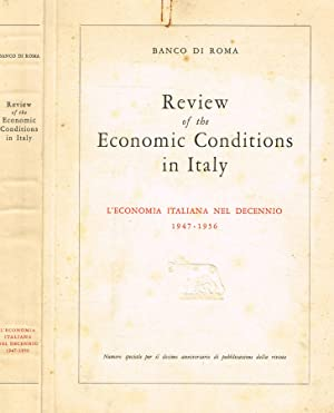 REVIEW OF THE ECONOMIC CONDITIONS IN ITALY: BANCO DI ROMA