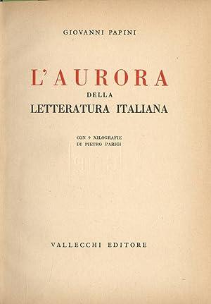 L' aurora della letteratura italiana: Giovanni Papini