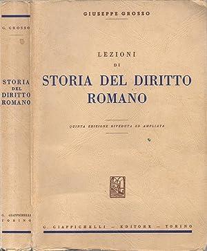 Lezioni di Storia del Diritto Romano: Giuseppe Grosso