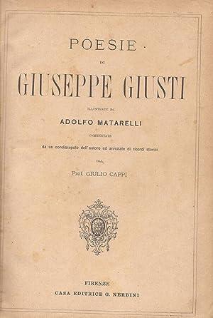Poesie di Giuseppe Giusti: Giuseppe Giusti