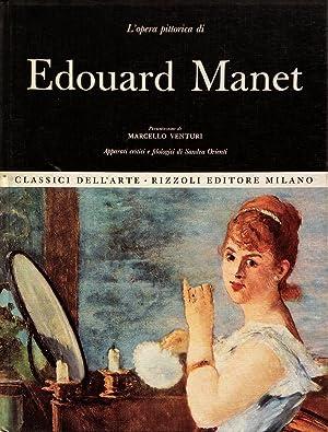 L'opera completa di Edouard Manet: Marcello Venturi, presentazione