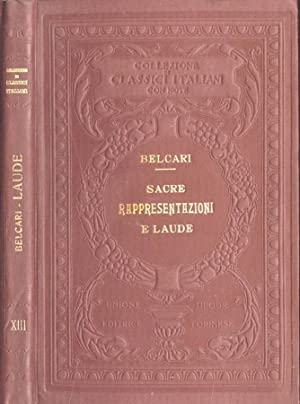 Sacre rappresentazioni e laude: Feo Belcari