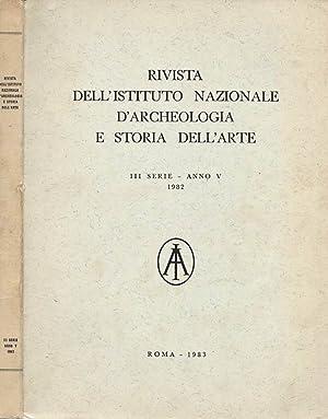 Rivista dell' Istituto Nazionale D' Archeologia e: Istituto Nazionale d'