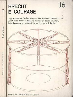 Brecht e Courage Saggi e scritti di: Ivo Chiesa, Mauro