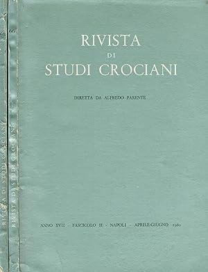 RIVISTA DI STUDI CROCIANI anno XVII fasc.II: ALFREDO PARENTE direttore