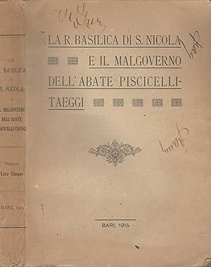 LA R. BASILICA DI S. NICOLA E: AA.VV.