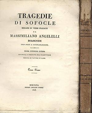 Tragedie Vol. I - II: Sofocle