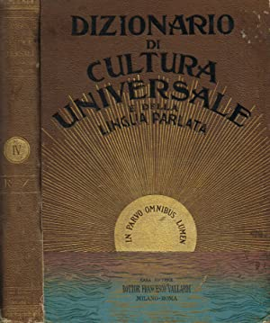 DIZIONARIO DI CULTURA UNIVERSALE E DELLA LINGUA: GARIBALDO BUCCO a