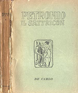 Il Satyricon: Petronio