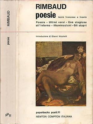 Poesie Poesie - Ultimi versi - Una: Arthur Rimbaud, autore;