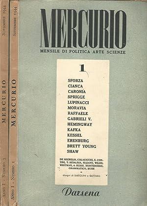 Mercurio. Mensile di politica, arte, scienze Anno: AA.VV.