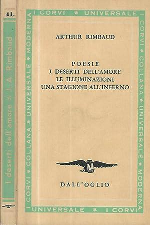 Poesie - I deserti dell'amore- Le Illuminazioni-: Arthurd Rimbaud